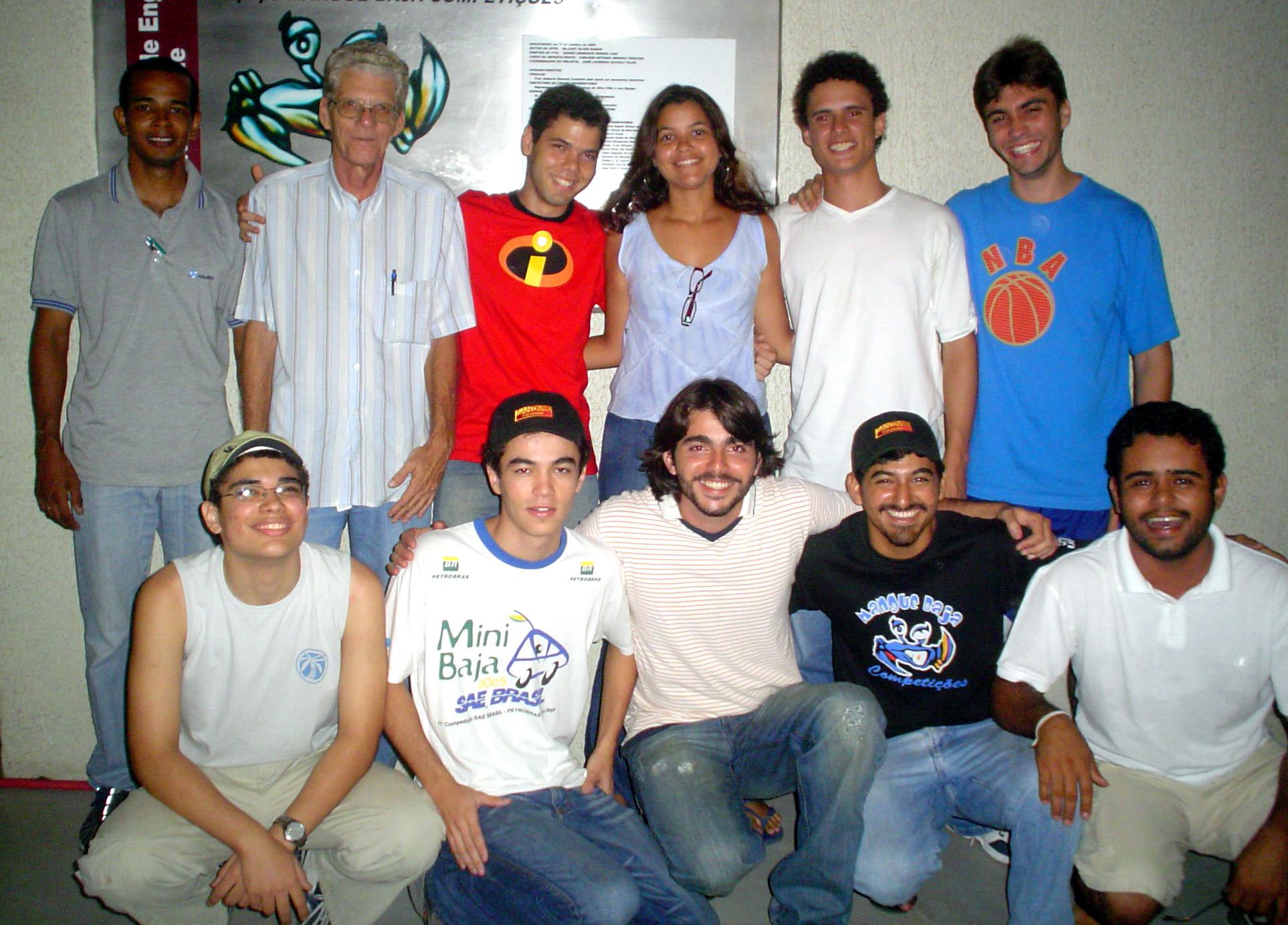 Equipe Mangue Baja 2