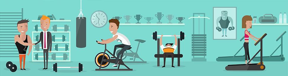 Piplbiz - gym all frame