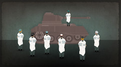 Rabbi Neria - Prayer on a tank