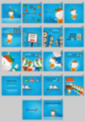 Herzliya - Accessibility guide designed storyboard