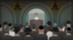 Rabbi Neria - Lecture in the synagogue