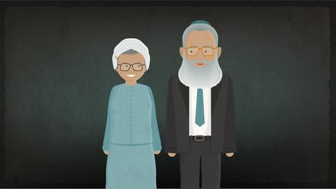 Rabbi Neria - with Rachel