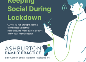 Keeping Social During Lockdown👫🏽👯