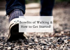 Benefits of Walking! 🚶♀️👟