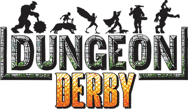 Dungeon Derby Board Game Logo