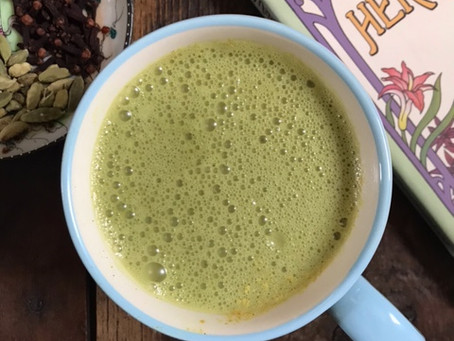 Super Green Spirulina Chai