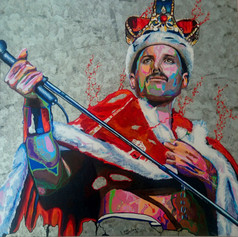 The King of Queen 36 x 36