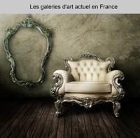 Les galeries d'art actuel en France