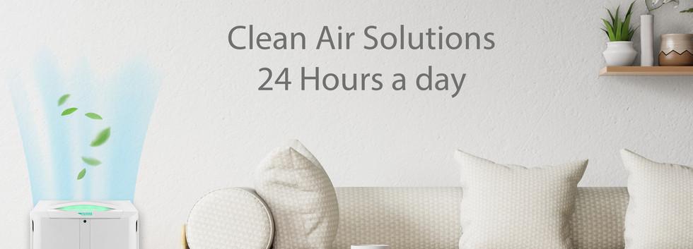 Clean air 24 jam tiap hari