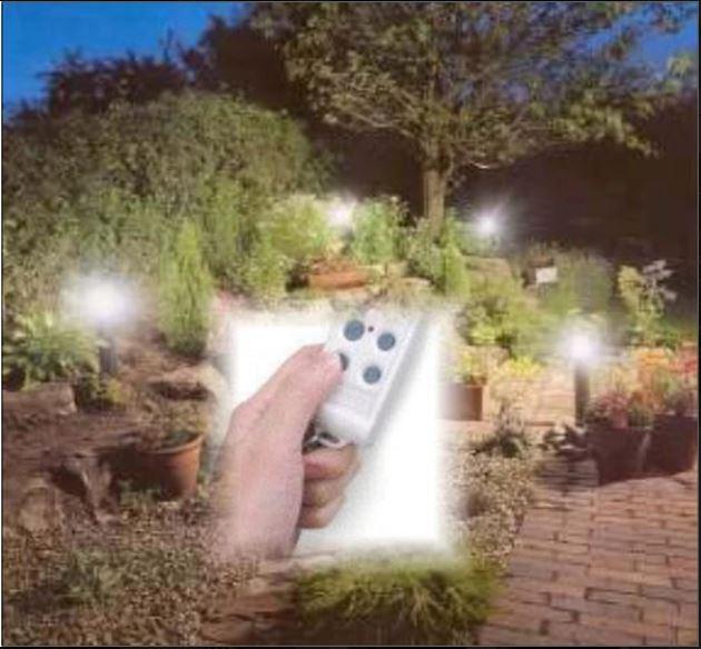 Tuinverlichtingssturing