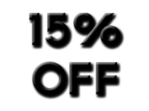 15% Discout Code