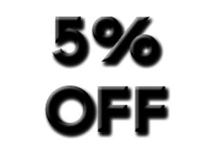 5% Discount Code
