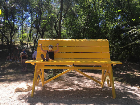 Come raggiungere la Big Bench!
