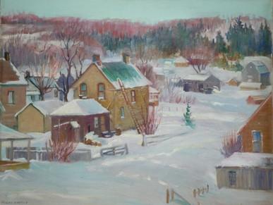 Winter in Haliburton