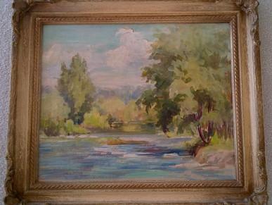 Gift of Clara Harris Painting