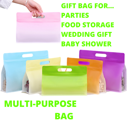 25 PCS Resealable Frosted Gift Bag / Food Storage Bag- Coffee Bean Package