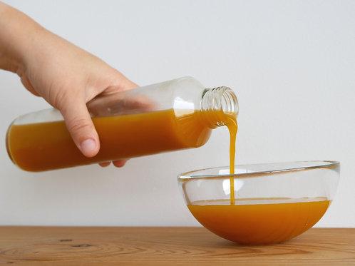 호박식혜 [Pumpkin Sikhye: Sweet Rice Punch w/ Pumpkin] 1.25L