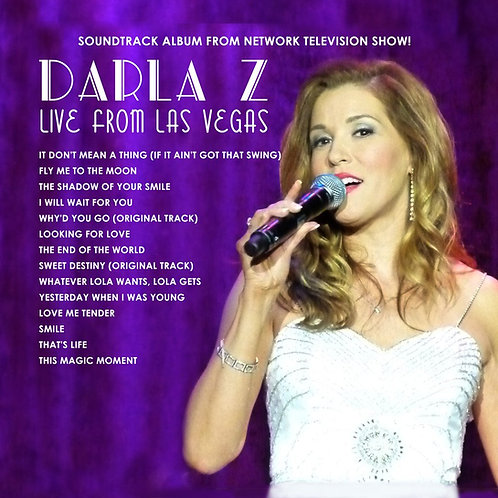 Live From Las Vegas CD