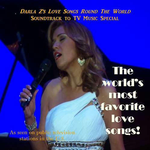Darla Z's Love Songs 'Round The World CD