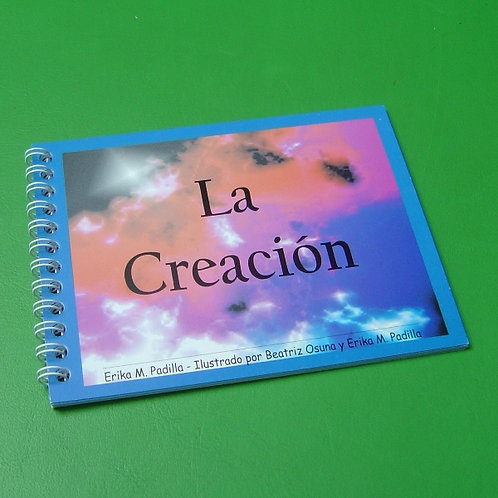 """Libro """"La Creación"""" niño"""