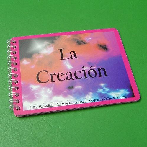 """Libro """"La Creación"""" niña"""