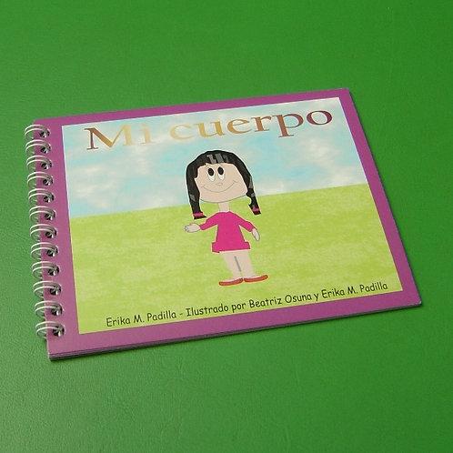 """Libro """"Mi cuerpo"""" niña"""