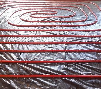 Underfloor heating, plumbing, heating, contractor, new build, developoment