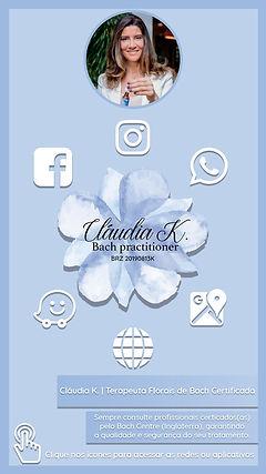 Cláudia K. Florais Cartão Virtual 1080x1920
