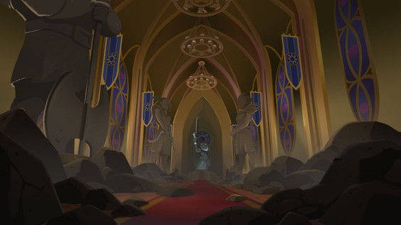 Niko and the Sword of Light. Season 2, Episode 2. Layout by Howard C.