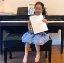 香港青年兒童音樂家大賽--王籽喬 鋼琴 幼稚園金獎