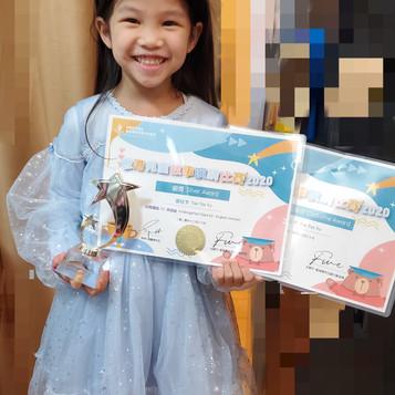 謝祉予 幼稚園K2 英語組 銀獎 最佳服飾獎.jpg