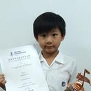 香港青年兒童音樂家大賽--黃于迅 木片琴 小學初級銅奬