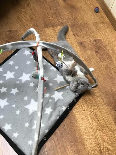Aloïze en haar speelmat