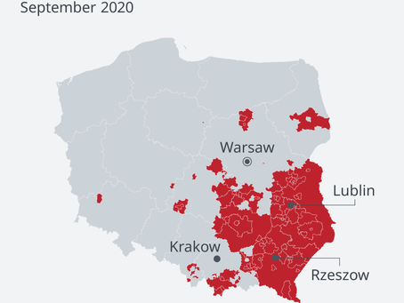 Polish town that was declared 'LGBT Free Zone' retracts decision