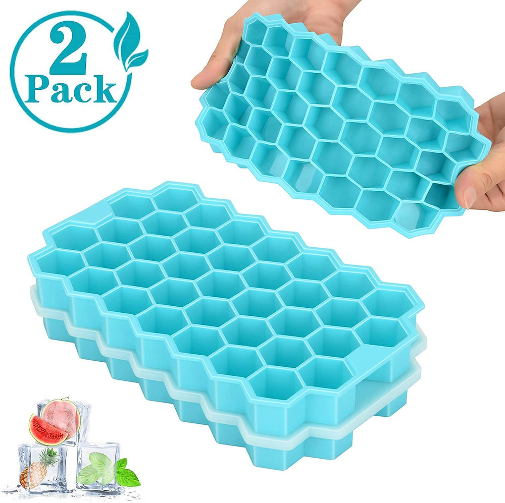 These are stackable and come in a pack of two!