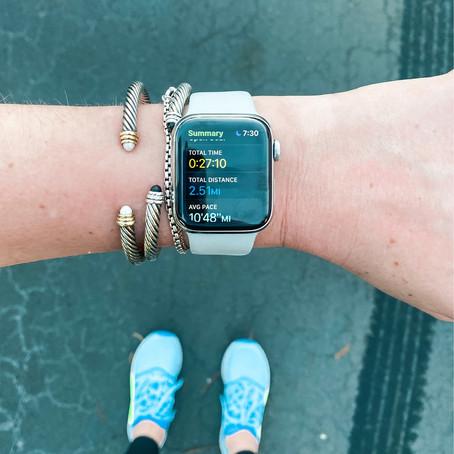 Starting Running... Again...