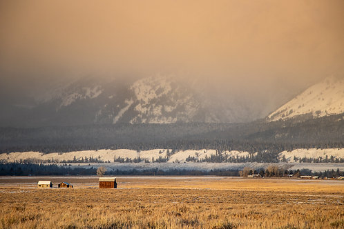 Golden Hour in Wyoming | Digital Download + Print Rights
