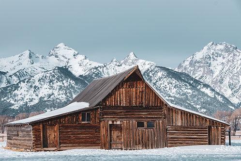 Mormon Row Barn   Digital Download + Print Rights