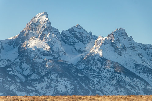 Classic Grand Teton Mountains | Digital Download + Print Rights