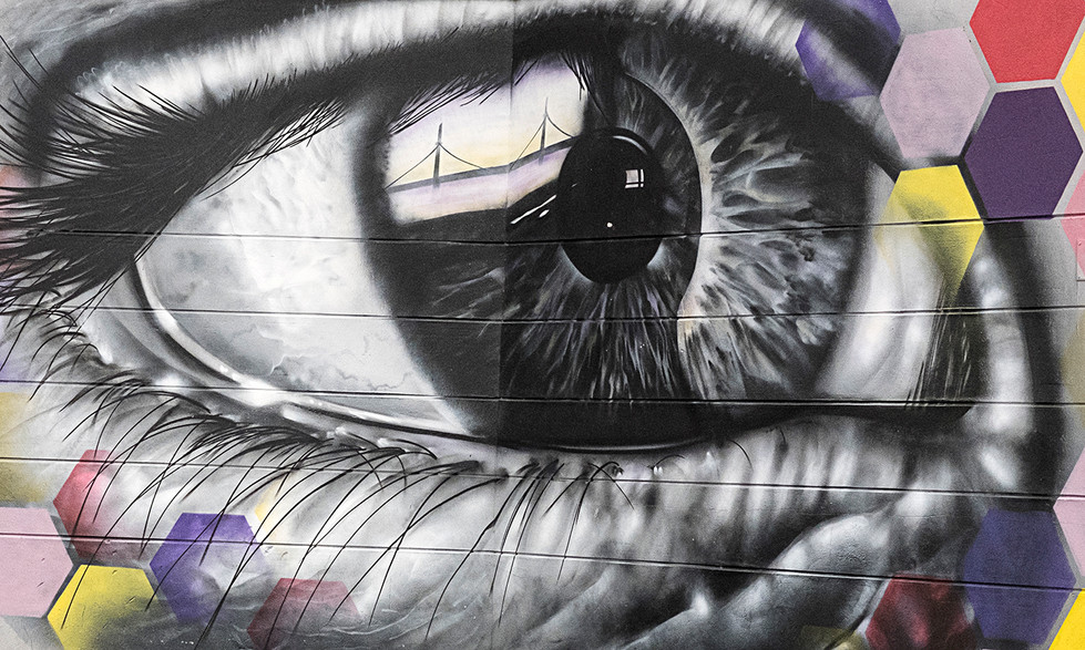 'Window to soul' by J Devine (9 marks)