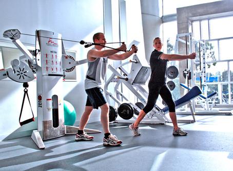Gym at IAHS