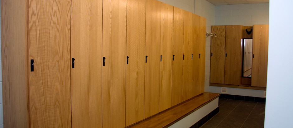 Sustainable Wooden Lockers