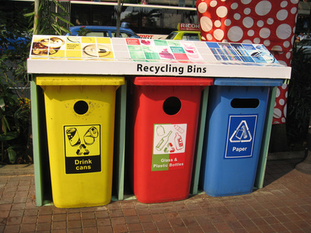 More Outside Recycling Bins