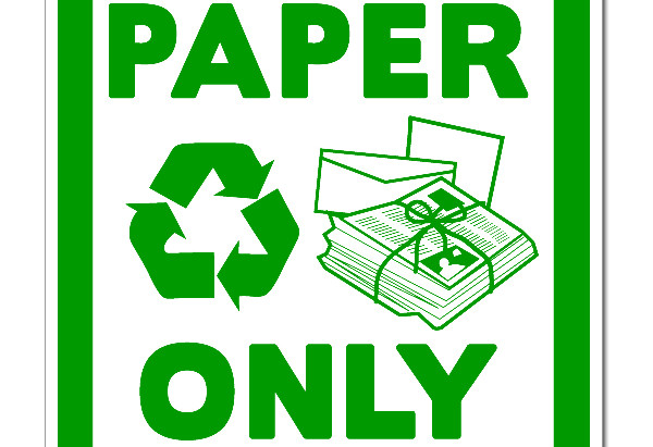 Reduce paper waste