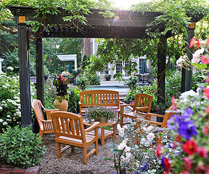 Garden study space