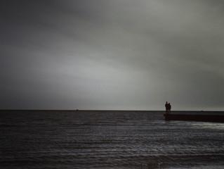 Un mare in silenzio. Location:Lignano Sabbiadoro