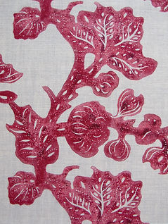 Berry Fruiting Fig on Natural Linen, Incredible India Range, Botanica Trading