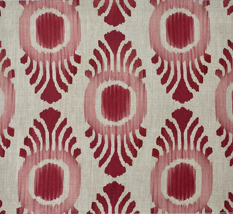 Ikat mini Pink & Red