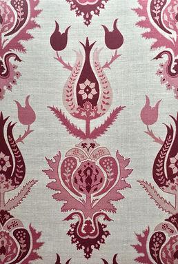 Suzani Strawberry Botanica Tradinig Textiles