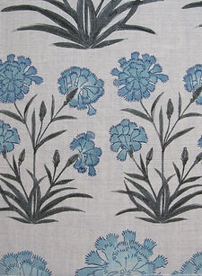 Mughal Mughal Meadow Miniature Blue, Incredible India Range, Botanica Trading